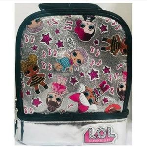 LOL Surprise Glitter Lunch Bag